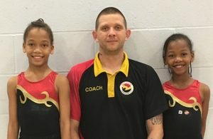 Mark Walsh and bermuda girls