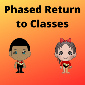 Phased return to classes
